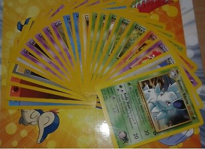 NEUF. Cartes Wizards Gym Challenge pokemon commune / peu commune