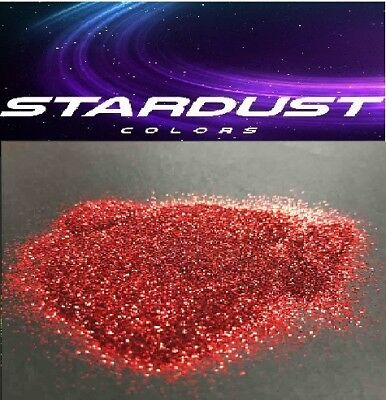 METAL FLAKES - Paillettes ROUGE 0.2mm - Carrosserie décoration - STARDUSTCOLORS