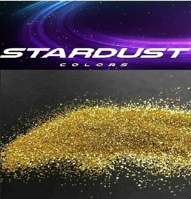 METAL FLAKES - Paillettes OR 0.2mm - Carrosserie décoration - STARDUSTCOLORS