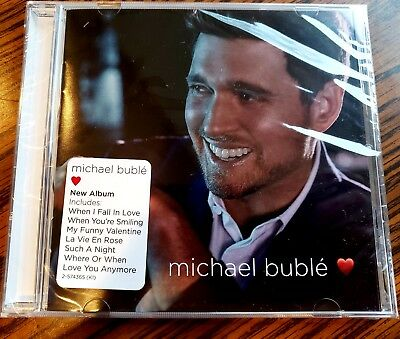 """Brand new, never used and factory sealed just released Michael Buble """"LOVE"""" CD"""