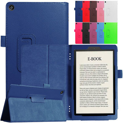 For Amazon Kindle Fire HD 10 8 7 2018 8th Gen Shockproof Leather Stand Flip Case