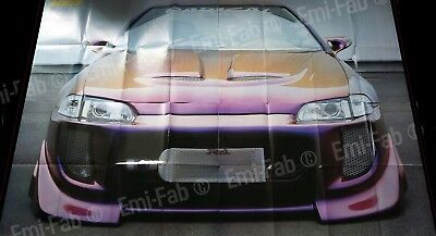 Honda Civic - Poster 4 parties- 175x120 Voitures Tuning ADDX -