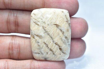 47.35 Ct. Natural Graphic Feldspar Rectengal Cab 34X26X5 Mm Loose Gemstone A-130