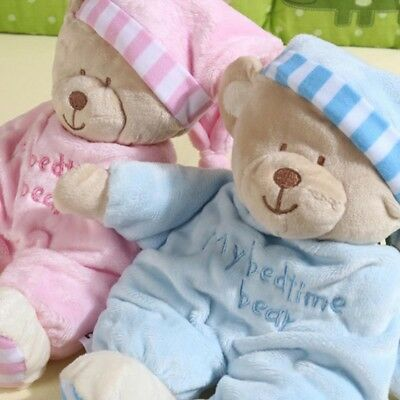 Cute Pet Bear Baby Plush Toy Soft Gift Newborn Boys Girls Comfort Sleeping Toys