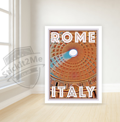 Art Deco Travel Posters Lovely Vintage Retro Holiday Tourism *Unique* Rome Italy