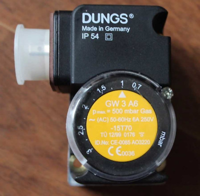 1PC New DUNGS GW3A6 Pressure Switch Free Shipping