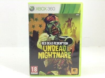Juego Xbox 360 Red Dead Redemption Undead Nightmare X360 4292722