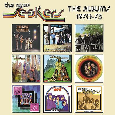 THE NEW SEEKERS 'THE ALBUMS 1970-73' (Best Of) 5 CD Box Set (1st February 2019)
