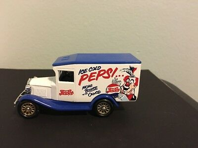 Diecast Miniature Pepsi Cola Truck Lledo England Clown More Bounce to the Ounce