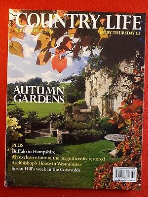 COUNTRY LIFE Magazine : 4th September 2003