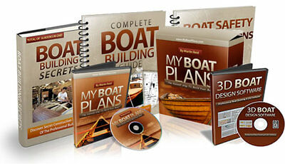 Build Your Dream Boat With ZERO Boat Building Experience...Over 500 Boat Plans