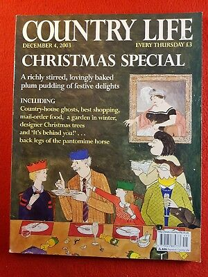 COUNTRY LIFE Magazine : 4th December 2003