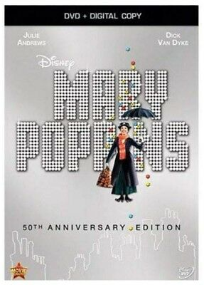 Mary Poppins: 50th Anniversary Edition [DVD + Digital Copy] (Bilingual) *NEW**