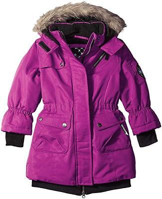 101c1982692d BIG CHILL LITTLE Girls Snow Jacket Size 5 6 Toddler Youth Removable ...