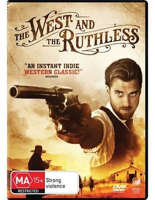 The West And The Ruthless Dvd, 2018 Release, New & Sealed, Region 4, Free Post