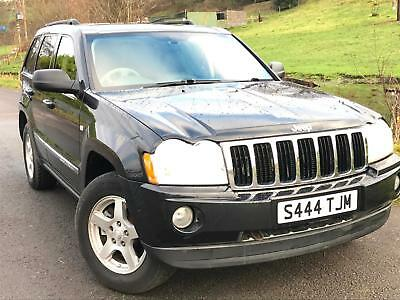 2005 Jeep Grand Cherokee 3.0CRD ( 215bhp ) 4X4 Auto Limited