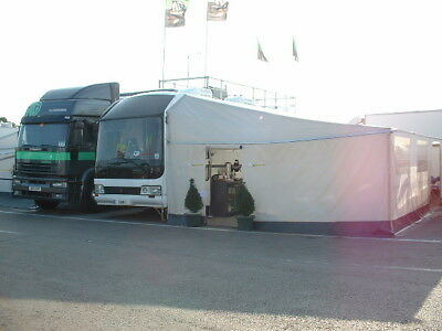 EX F1 Motor Racing Exhibition Hospitality Coach Catering Unit  Motorhome Trailer