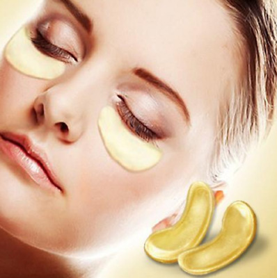 6 Pair Premium Collagen 24k Gold Under Eye Gel Pad MASK Anti-Aging SALE