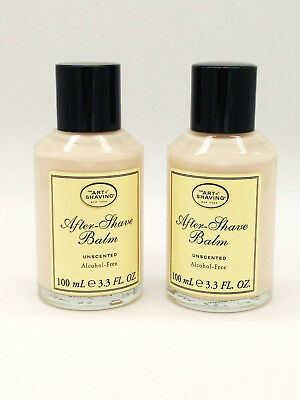 The Art of Shaving After-Shave Balm Unscented Unboxed (Lot of 2)