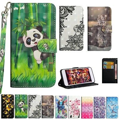3D Magnetic PU Leather Folio Stand Case Cover For Nokia 2.1 3.1 5.1 7.1 8.1 2018