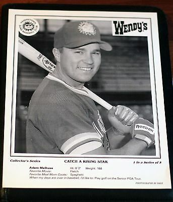 "1994 Wendy""s Hagerstown Suns Giveaway Collector""s Series, 4 of 5 Photo Series"