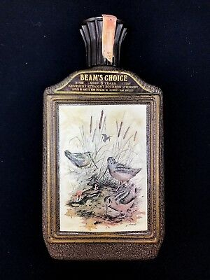 Old Antique Collectible Vintage Beam's Choice Advertising Liquor Decanter Bottle
