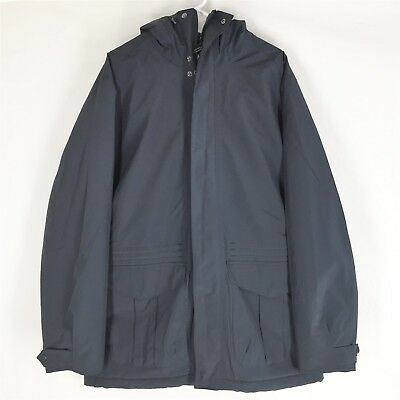 BARBOUR Men's Rivington Hooded Jacket Navy Blue XL NEW WITH TAGS