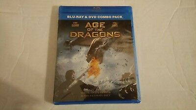 Age of the Dragons (Blu-ray/DVD, 2012, 2-Disc Set) BRAND NEW & SEALED