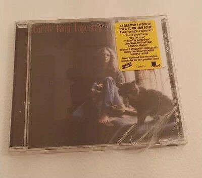 Carole King Tapestry Cd 1999 Remastered New Sealed