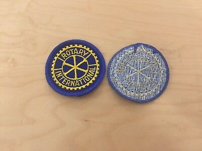 rotary international vintage patch , new old stock, ,1970's,