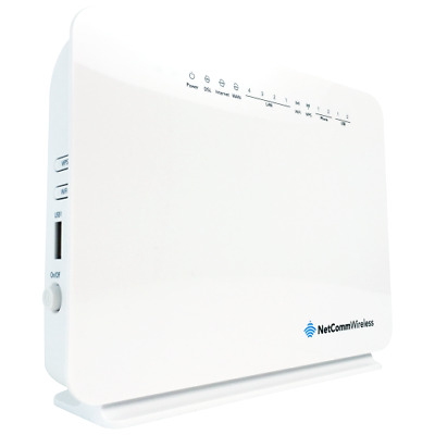 NetComm NF10WV WiFi NBN VDSL/ADSL2+ FTTN Modem Router with Telephone VOIP Port