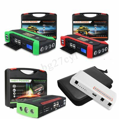 30000-82800mAh Car Jump Starter Booster Portable Battery Charger Power Bank