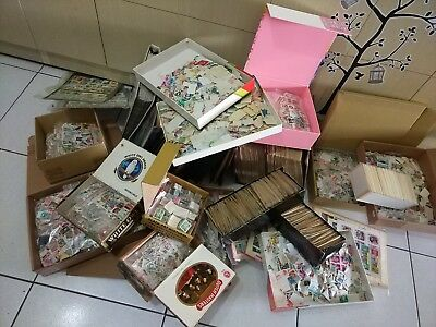 OVER 100000 of Worldwide Stamps Used, Mint, Sets, Sheets, Albums, Collection !!
