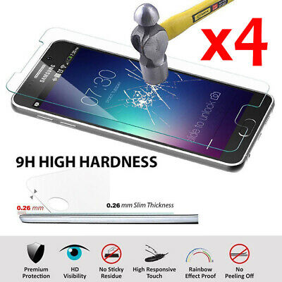 3 Tempered Glass Screen Protector gehärtetes Glas Display Schutzfolie fürSamsung