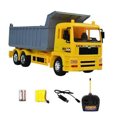 1:20 2.4G RC Dump Truck Remote Control Engineering Vehicle Dumper Car Kids Toys