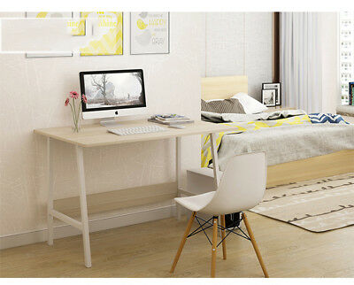 Simple Computer Desk PC Laptop Table Workstation Study Home Office Furniture UK