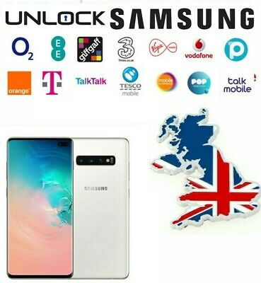 Unlock Code For Samsung Galaxy Note 9 A6 J5 J3 6 A3 A5 VODAFONE O2 EE THREE UK
