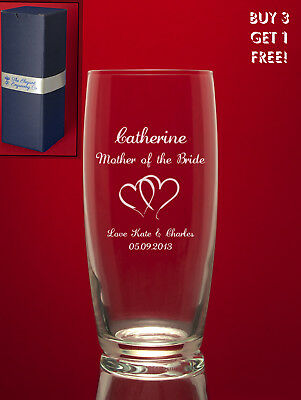 Personalised Engraved COCKTAIL Hi Ball Glass Gin-Tonic Vodka etc - Image+Message