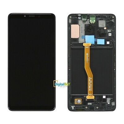 Ricambio Lcd Display SERVICE PACK Touch Nero Samsung Galaxy A9 2018 SM-A920