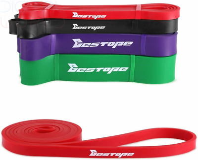 [Resistance Bands] BESTOPE® Fitness Exercise Bands Workout Strap Loop...