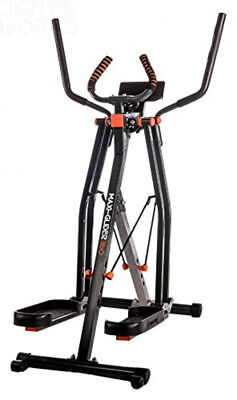 New Image Maxi-Glider 360, 10 in 1 Cross Trainer Cardio Workout 4 Levels of...