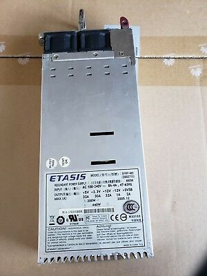 Etasis EFRP-G657 ERP1U 650W High-Efficiency Redundant Power Supply Module