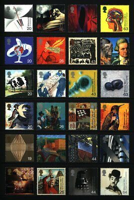 Gb Qeii Year 1999 Complete Commemoratives, Millenniums U/Mint At Face