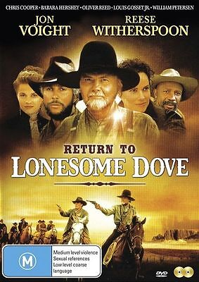 Return To Lonesome Dove (DVD, 2-Disc Set) BRAND NEW SEALED