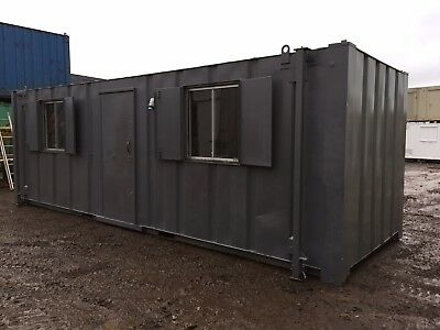 Site Office Cabin Changing Room Drying Room Anti Vandal Portable Building 24ft