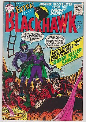 Blackhawk #216, Fine Condition'