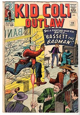 Kid Colt Outlaw #119, Good - Very Good Condition