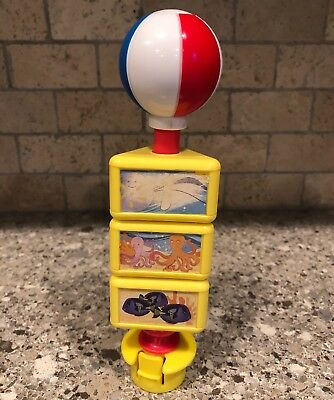 Evenflo Exersaucer Activity Center Switch A Roo Spinning Beach Ball Fish Toy