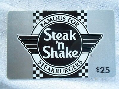 New STEAK 'N SHAKE  Gift Card -No Value- Collectible Memorabilia