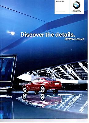 BMW Lifestyle Miniatures Model Car / Motorcycles Brochure 2008 9057E